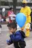 Anti démonstration nucléaire Images libres de droits