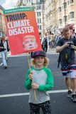 Anti-Donald Trump Rally in zentralem London stockfotos