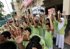 Anti-drug rally Stock Photos