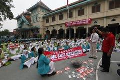 Anti-drug rally Royalty Free Stock Photos