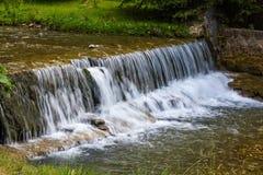 Anti erosion waterfall Royalty Free Stock Photo