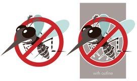 Anti febbre rompiossa royalty illustrazione gratis
