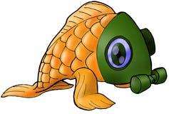 anti fiskförorening vektor illustrationer
