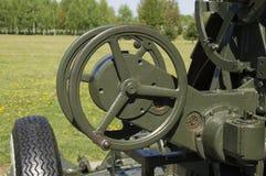Anti--flygplan för ram för gunga för styrninghjul Arkivfoto