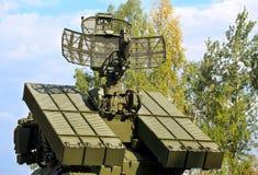 Anti--flygplan försvarsystem Arkivfoton