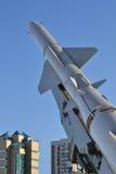 Anti--flygplan missilsystem S-75 för underhållningfestivalen för 21 strid adlar den stora byelorussian redaktörs- bilden det mede Arkivfoton