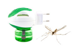 Anti fumigator de moustique images stock