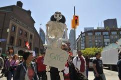 Anti GMO rally. Royalty Free Stock Photography