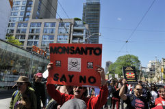 Anti GMO rally. Stock Photography