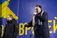 Anti-Government Protest in Ukraine Stock Photography