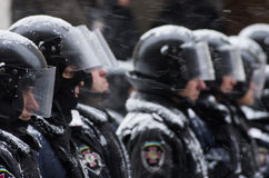 Anti-Government Protest in Ukraine Stock Photo