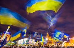 Anti-Government Protest in Ukraine Stock Photos