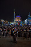 Anti-Government Protest in Ukraine Royalty Free Stock Photo