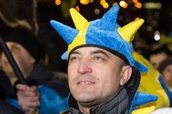 Anti-Government Protest in Ukraine Royalty Free Stock Image