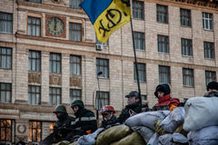 Anti-government protests outbreak Ukraine Stock Photography