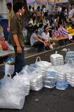 Anti-Government Verzameling van Siam van Pitak in Bangkok, Thailand Stock Afbeeldingen