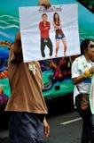 Anti-Government Verzameling van Siam van Pitak in Bangkok, Thailand Stock Afbeelding