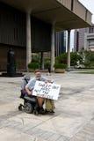 anti hemlös protest för apec 56 Fotografering för Bildbyråer