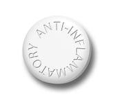 Anti-Inflammatory stock illustration