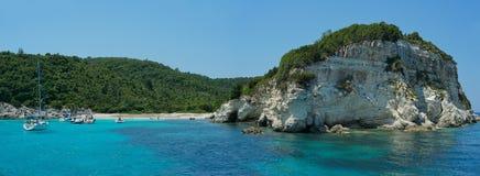 Anti isola di Paxos Fotografia Stock