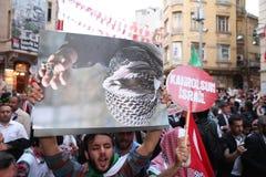 Anti Israel Demonstration royalty free stock photography