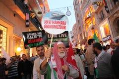 Anti Israel Demonstration royalty free stock photo