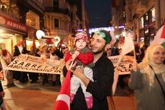 Anti Israel Demonstration royalty free stock photos