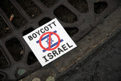 Anti-Israeli protests in Paris Royalty Free Stock Images
