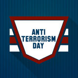 Anti jour de terrorisme Photo libre de droits