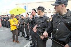 anti протест kremlin moscow Стоковые Фото