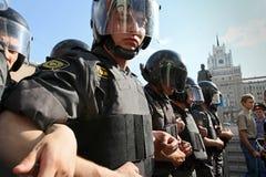 anti протест kremlin moscow Стоковые Изображения