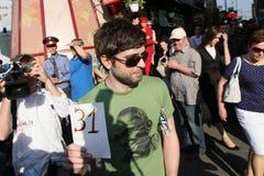 anti протест kremlin moscow Стоковые Изображения RF