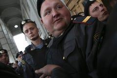 Anti-Kremlin rally in Moscow Royalty Free Stock Photo