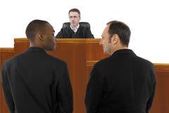 Anti le même juge de mariage de sexe Image stock
