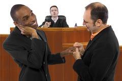 Anti le même juge de mariage de sexe Images stock