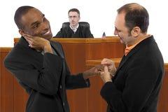 Anti le même juge de mariage de sexe Photo libre de droits