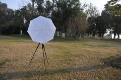 Anti lichte paraplu Stock Fotografie