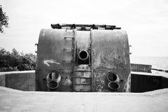 Anti-lucht kanon royalty-vrije stock fotografie