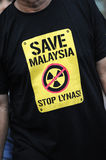 anti lynas Royaltyfri Foto