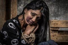 Anti-människohandel Royaltyfri Foto