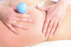 Anti massaggio delle celluliti Fotografia Stock