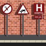 Anti mensagem da droga ilustração stock