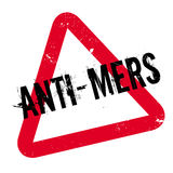 Anti--Mers Stempel Lizenzfreies Stockfoto