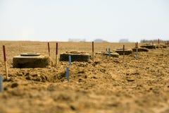 Anti mines de réservoir Images libres de droits