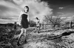 anti modeflickor Fotografering för Bildbyråer