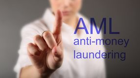 Free Anti Money Laundering Concept AML Stock Photos - 118612303