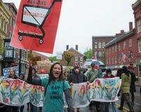 Anti-Monsanto Protest Stock Photo