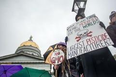 Anti-Monsanto protestation Photographie stock libre de droits