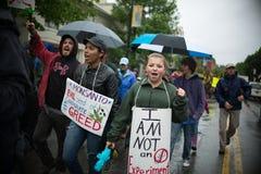 Anti-Monsanto protestation Photos stock