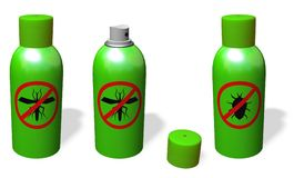 Anti-mosquito spray Stock Photography